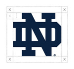 Athletics Monogram One-Color Clear Space