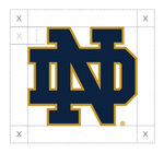 Athletics Monogram Two-Color Clear Space