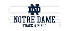 Wordmark Notre Dame One Color Long