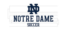Wordmark Notre Dame One Color Short