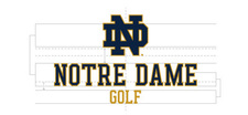 Wordmark Notre Dame Two Color Short