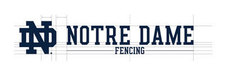 Wordmark Notre Dame One-Color Horizontal