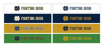 Wordmark Horizontal Fighting Irish Color Variations