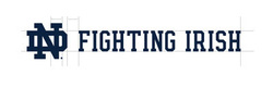 Wordmark Horizontal Fighting Irish One Color