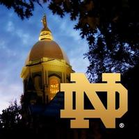 Notre Dame Twitter Avatar Example