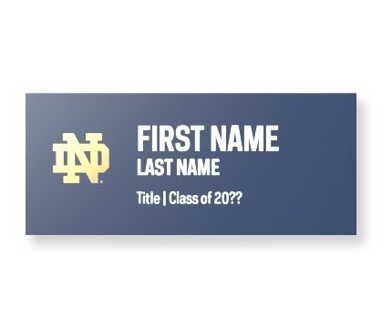 Namebadge Student